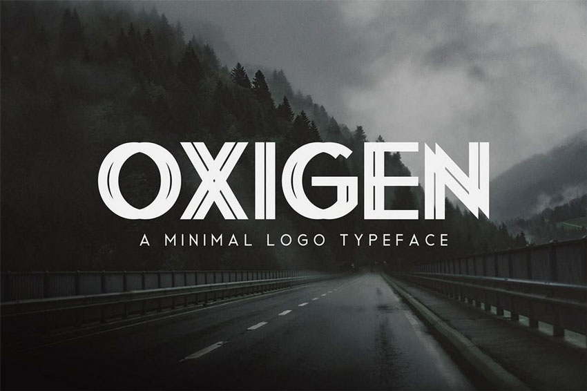 minimal font for logo design