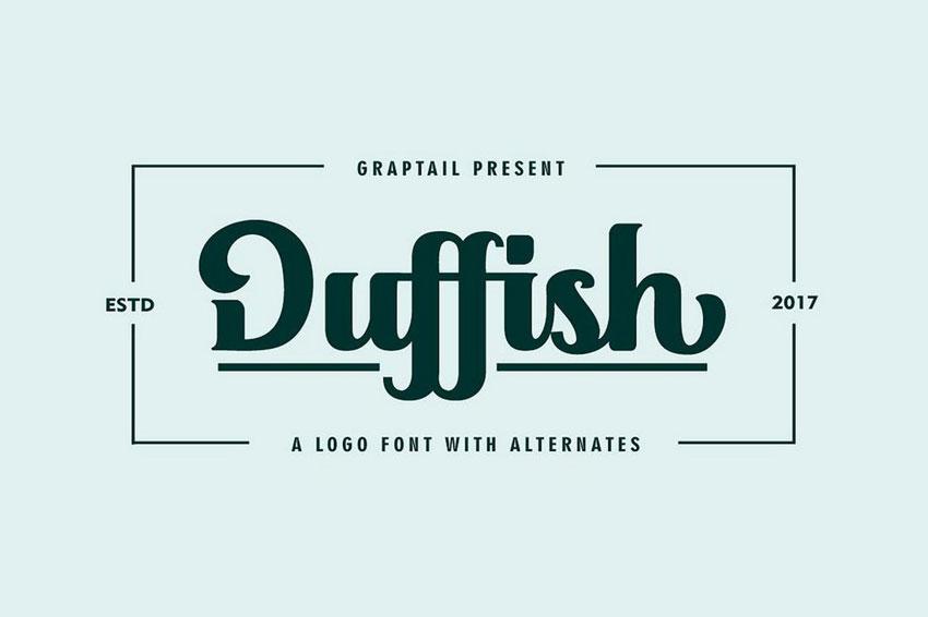 best logo design font