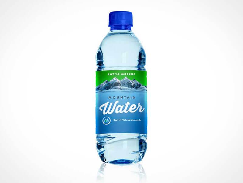 Pet Water Bottle Mockups PSD