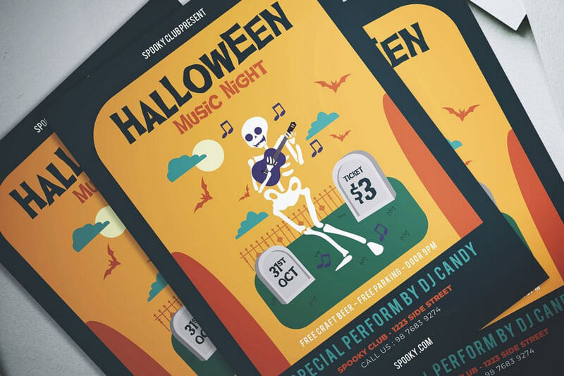 Halloween Funny Flyer Templates
