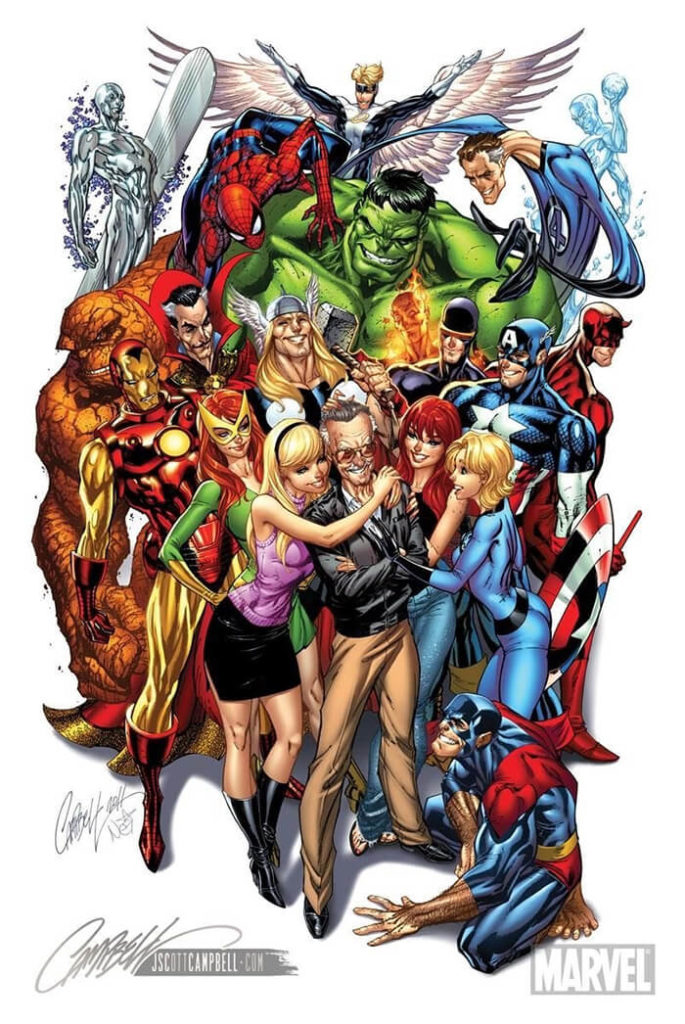 Art Tribute To Stan Lee