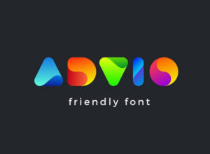 color font for logo design