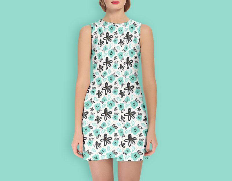 Girl Dress Mockup PSD