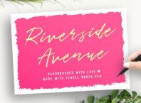 Riverside Avenue Free Script Font