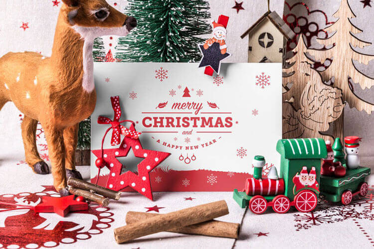 Best Christmas Scene Generator Mockups