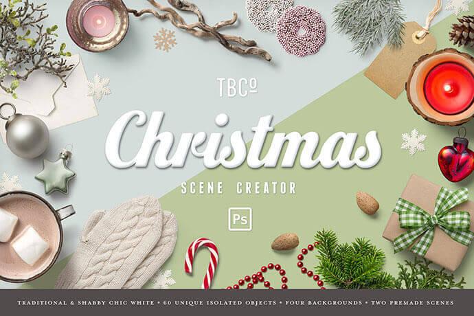 Christmas Scene Generator Mockups