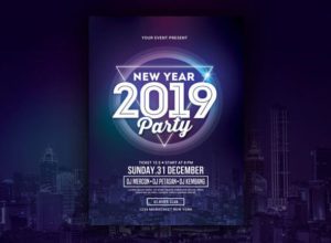Happy New Year event Flyer Templates