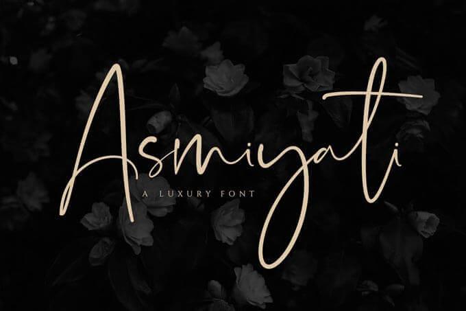 luxury wedding font download