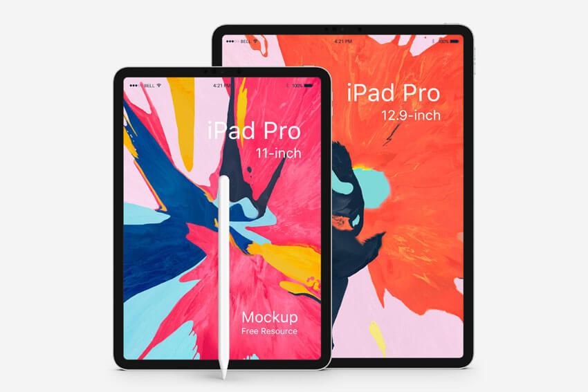 Free iPad Pro Mockup PSD