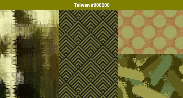 Taiwan Most popular color in 2019