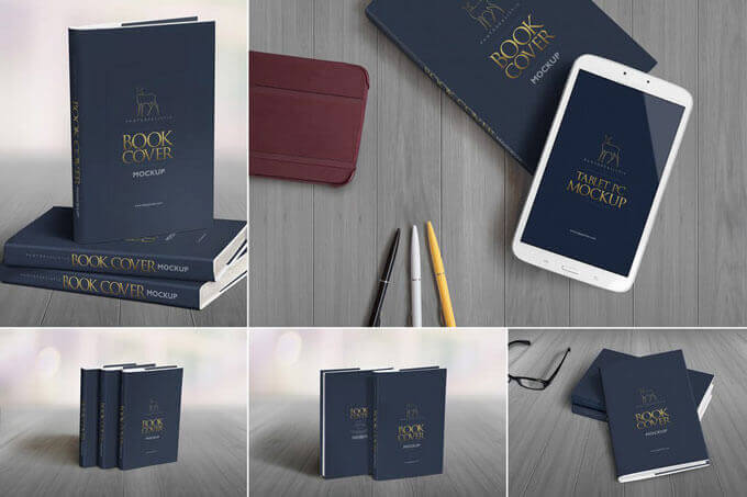 Best Book Cover Mockup Templates
