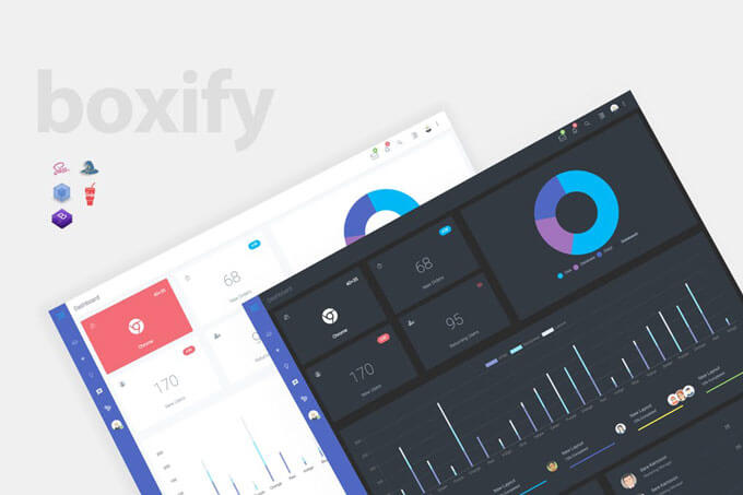 Bootstrap 4 Admin Dashboard Templates Download