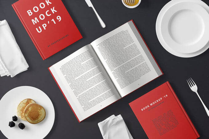 Best Book Cover Mockup PSD