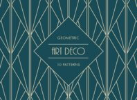 Free Art Deco Geometric Patterns Download