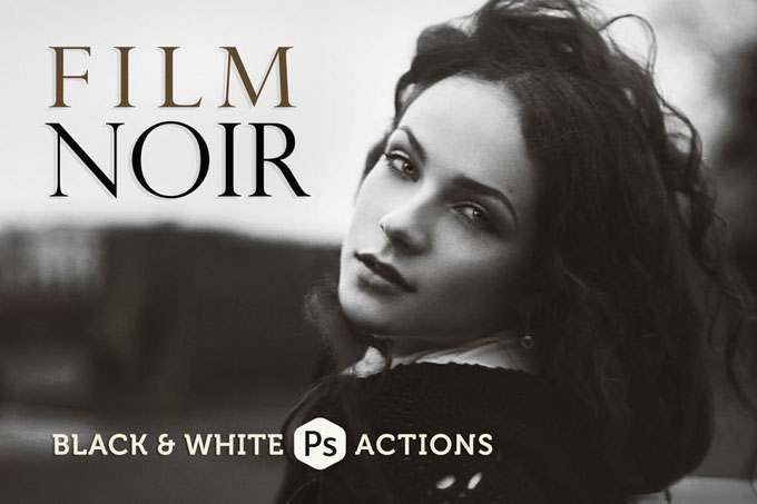 Film Best Black & White Photoshop Actions