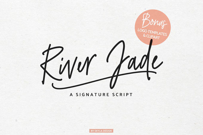 Signature Font For Logos Design