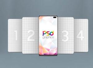 Free Samsung Galaxy S10 Plus Mockup PSD