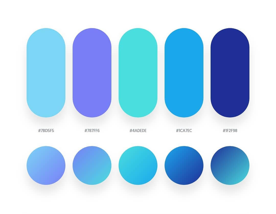Beautiful Color Palettes 2019