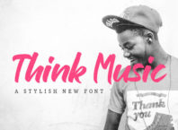Free Think Music Script Brush Font Download