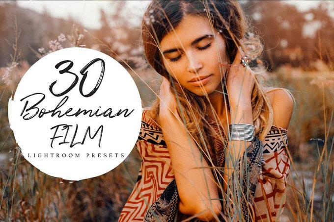 Bohemian Film Lightroom Presets