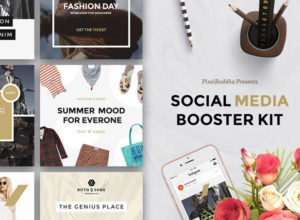 Social Media Booster Kit Template