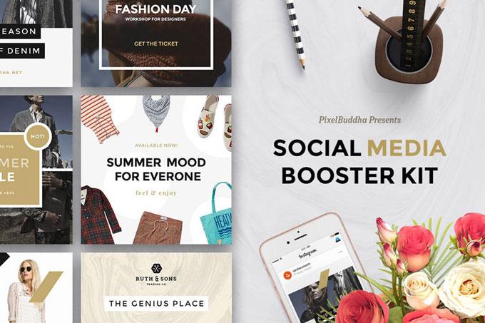 Social Media Booster Kit Template