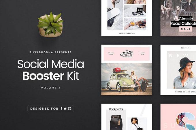 Social Media Branding Kit Template