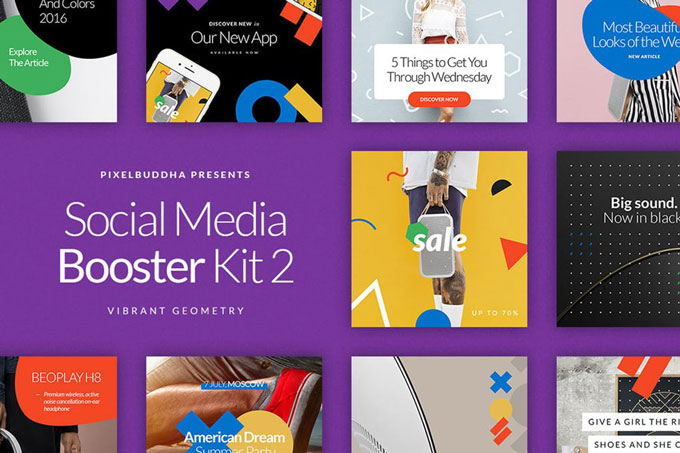Social Media Product Marketing Kit Templates