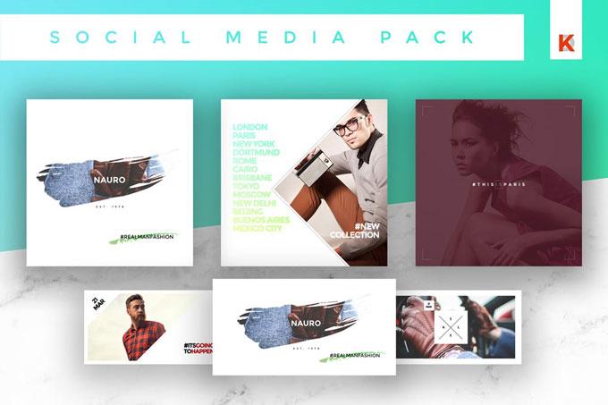 Advertisment Social Media Templates Pack