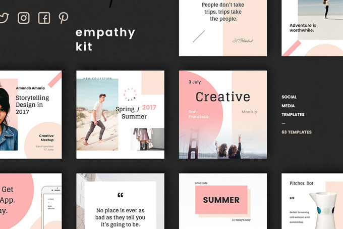Fresh and Clean Social  Media Kit