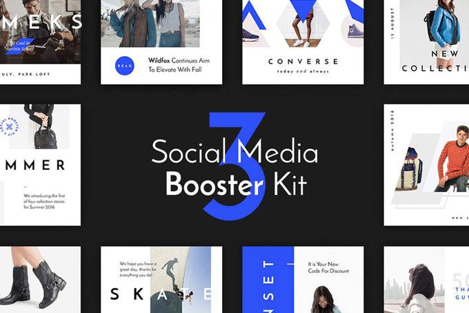 Ecommerce Social Media Kit Templates