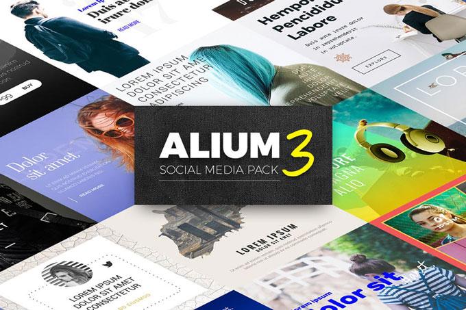 Multipurpose Social Media Templates Pack