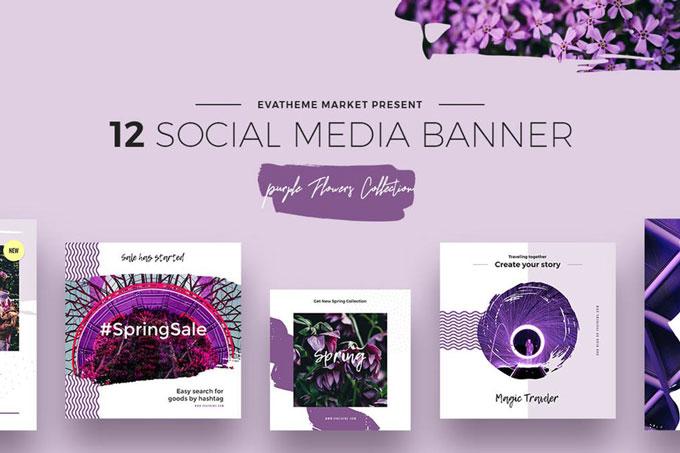 Beautiful Social Media Templates
