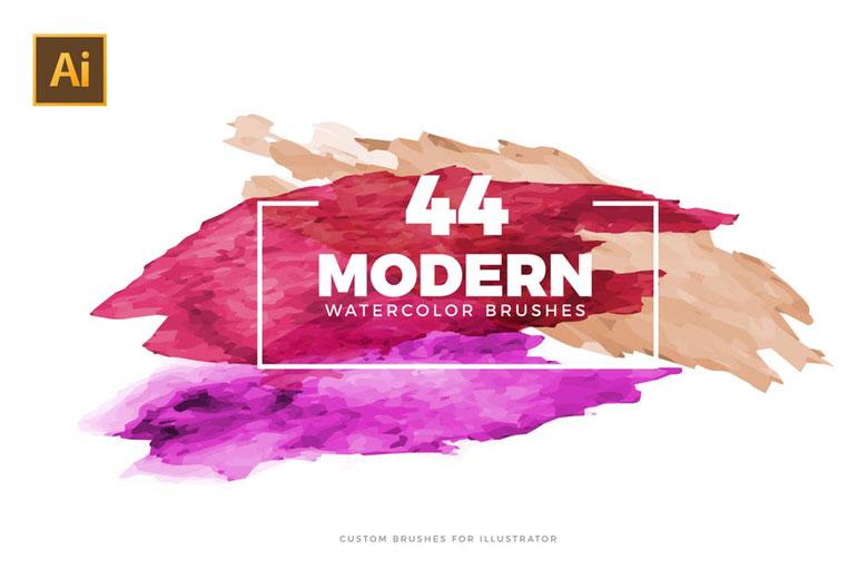 Modern Illustrator Brushes