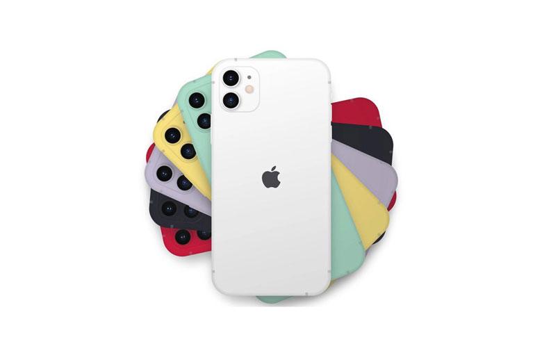 Free iPhone 11 Adobe XD mockup