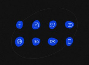 Free Handwritten Social Media Vector Icons
