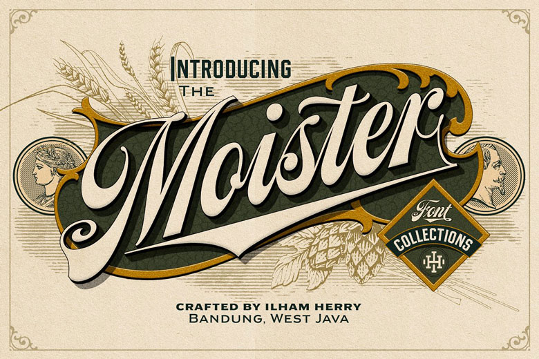 Fonts Inspired By Beer Labels