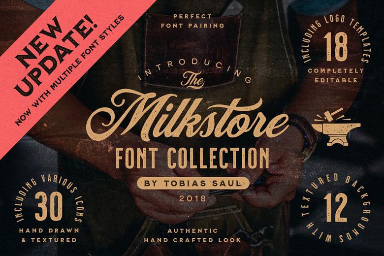Vinatge Style Font Collection