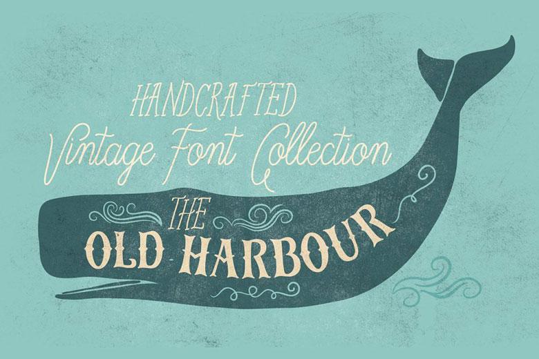 Vintage Hand Lettered Signage Font