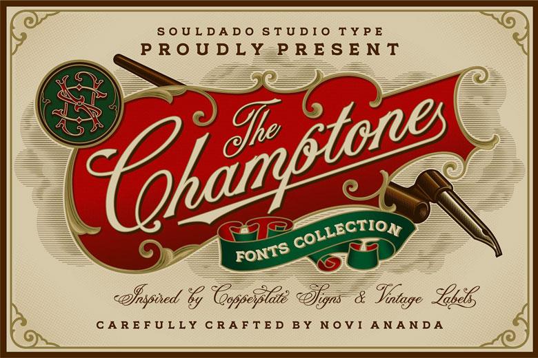 Best Vintage Label Design Fonts For Designers