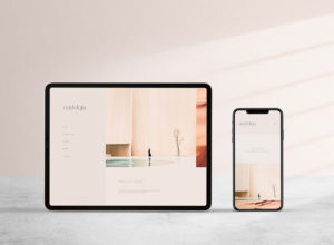 Free iPad Pro and iPhone 11 Digital Mockup