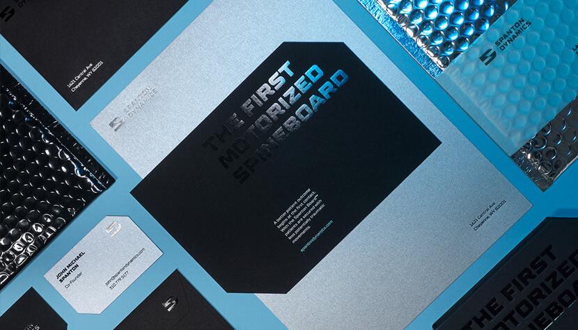 Graphic Design Trends 2020 Shiny Metals