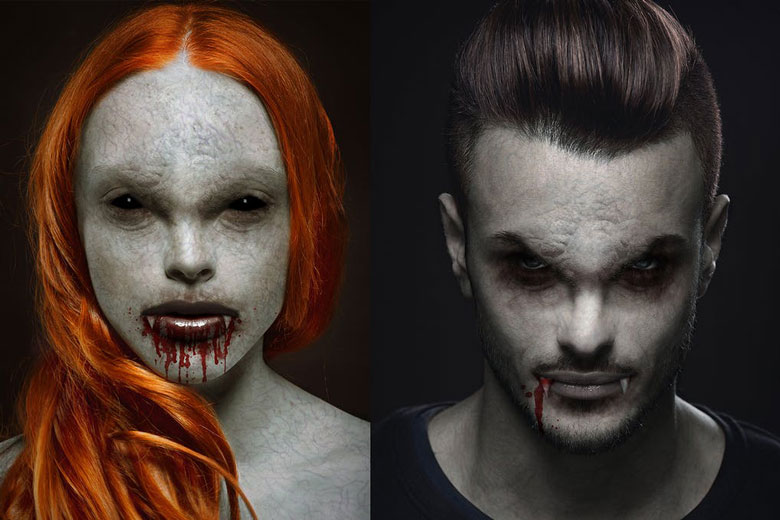 Scary Vampire Photoshop Action