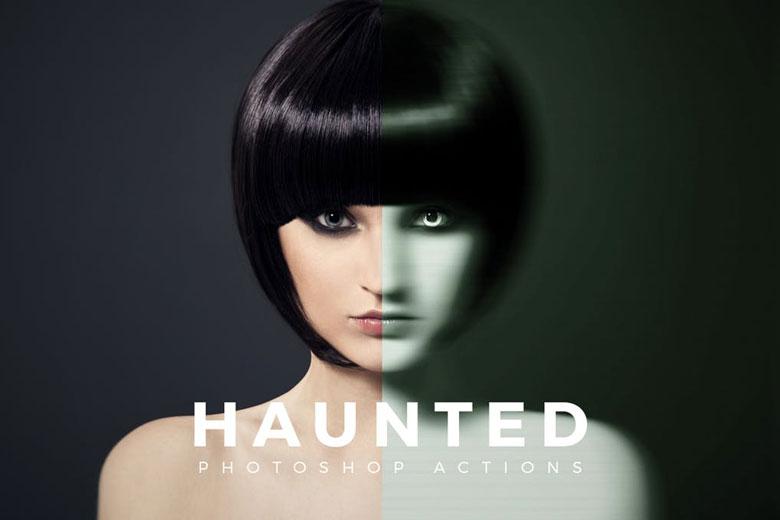 Haunted Halloween Photoshop Action