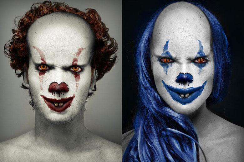 Evil Clown Photoshop Action
